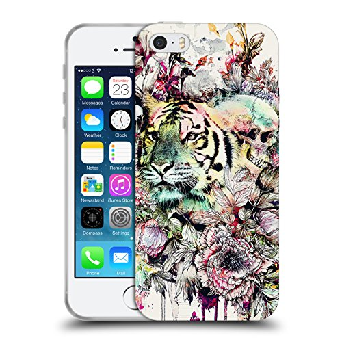 Ufficiale Riza Peker Gufo Animali Cover Morbida In Gel Per Apple iPhone 6 / 6s Tigre