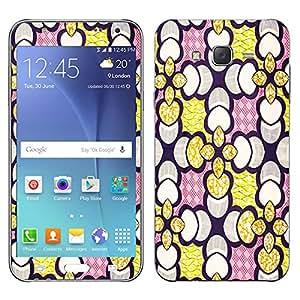 Theskinmantra Petal Yellow Samsung Galaxy J7 mobile skin