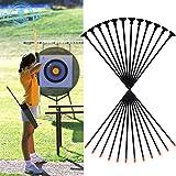 """Funtress 27"""" in fibra di vetro Tiro con l'arco frecce a ventosa per bambini Donne tiro con l'arco per principianti Ricurvo e composto & Long Bow"""