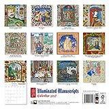 Image de British Library - Illuminated Manuscripts wall calendar 2017 (Art calendar)