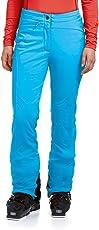 MAIER SPORTS Softshell Skihose Marie für Damen aus 98% PES 2% EL, elastische Schneehose, wasserabweisend und winddicht, verstellbarer Bund, Beinreißverschluss, Kanteschutz