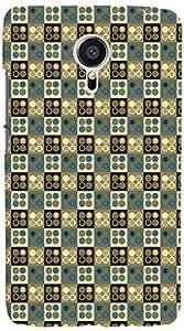 PrintVisa 3D-MEIZUMX5-D7933 Pattern Vintage Design Back Cover for Meizu MX5