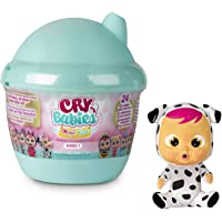 Cry Babies Magic Tears Casetta Biberon W2, Mini Bambola a Sorpresa da Collezione, con Lacrime Vere e Accessori, Giochi…