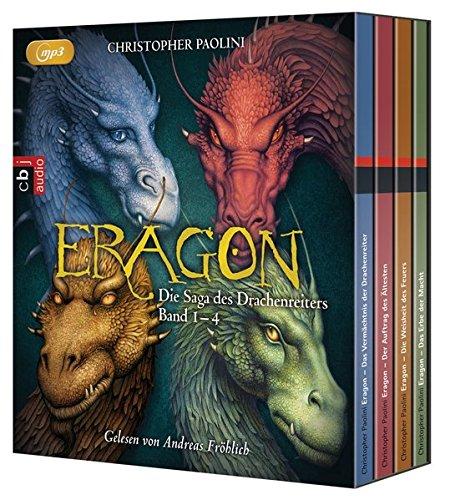 Buchcover ERAGON – Die Saga des Drachenreiters: Die Box: Die vollständige Hörbuch-Edition Band 1 bis 4