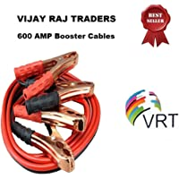 VRT Premium Car Heavy Duty Booster Cables|| Auto Battery Booster 2.21 Meter || Clamp to Start Dead Battery || Auto Car…