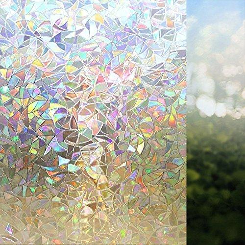 rabbitgoor-3d-non-adhesive-static-illuminative-decorative-privacy-glass-window-film-anti-uv-90cmx200