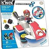 K'Nex - 38724 - Mario Kart 8 - El Mario Kart - Juego de construcción