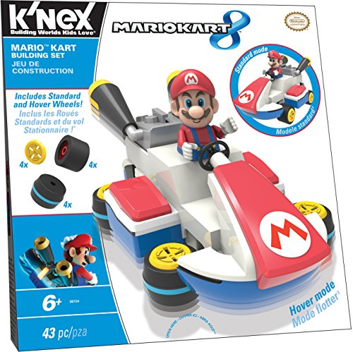 K�NEX Mario Kart Building Set for Ages 6+, Construction Educational Toy, 43 Pieces