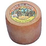 Originale Aoc Tete De Moine Svizzero Monaco Formaggio Intero Forma circa 900 G