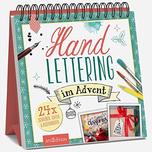 Handlettering im Advent: Adventskalender
