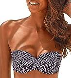 Lascana Bikini Oberteil Mix-Kini, marine-mehrfarbig, D36