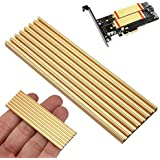 Generic 71 X 21 X 3mm Aluminum Diffuse Heat Sink Heat Dissipation Cooling Pad M. 2 NGFF 2280 For SM961 960PRO NVMe SSD One Piece