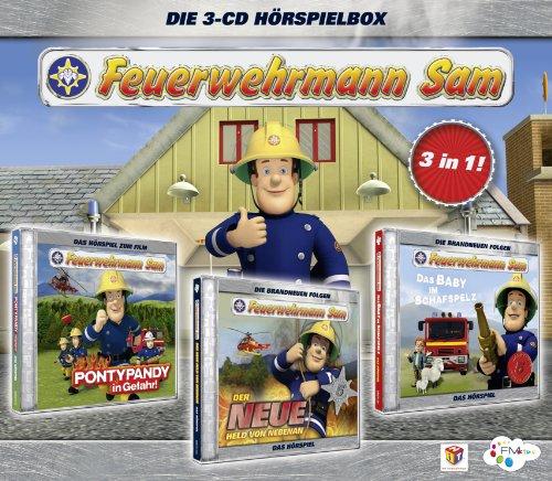 Feuerwehrmann Sam Hörspielbox 1 (Eine Kleine Nacht Musik-dvd)