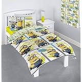 Disney Character Kids Los Niños edredón colcha ropa de cama, diseño de Minions Nuevo en