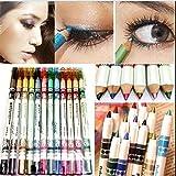 Best Stylos Eyeliner - 12 couleurs Eyeliner crayon de maquillage cosmšŠtiques stylos Review