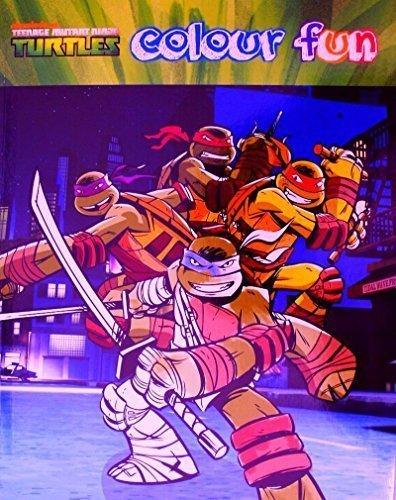 TMNT Teenage Mutant Ninja Turtles Malbuch