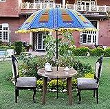 Lalhaveli Sun Protection Garden Patio Umbrella Parasol 52 X 72 Inches