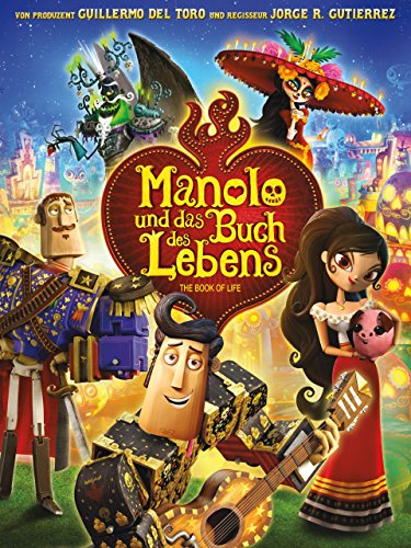 Manolo und das Buch des Lebens [dt./OV] (Hercules Kinder Buch)