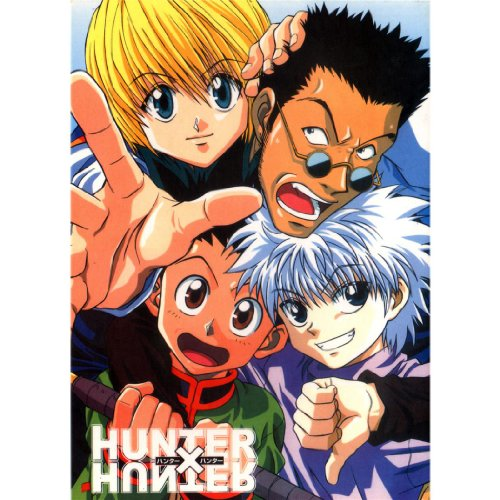 Hunter X Hunter (14inch x 19inch / 35cm x 49cm) Silk Print Poster - Soie Affiche - 0342B2