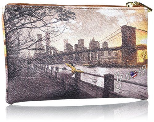 YNOT i-341, Organizer Borsa Donna, 20x12x1 cm (W x H x L) Multicolore (Fame in New York)