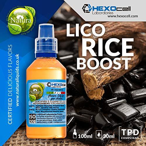 E LIQUID PARA VAPEAR - 30ml Licorice Boost Regaliz