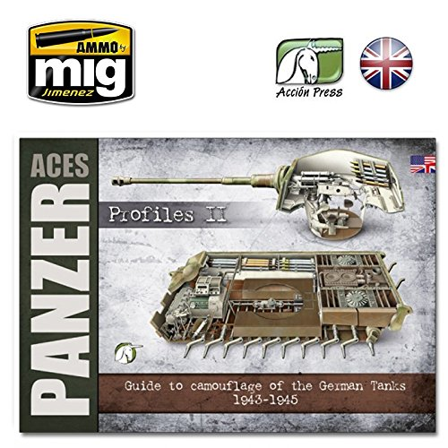 AMMO Munition euro-0017 Panzer Aces - Profile Vol. 2 englisch, Mehrfarbig