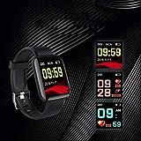 Chainscroll Polsino astuto Bluetooth Impermeabile Multifunzionale Casual di Forma Quadrata Smartwatch