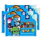Küchle Knabber Esspapier blau Tutti Frutti Geschmack 25g Essoblaten (4er Pack)