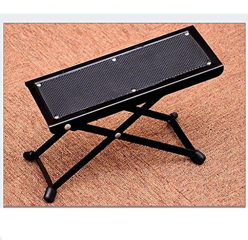 Imagen de reposapiés para  soporte de  clásica durable metal + pedal de goma pedal de  negro pedal de