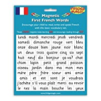Fridgemagic Magnetic First French Words