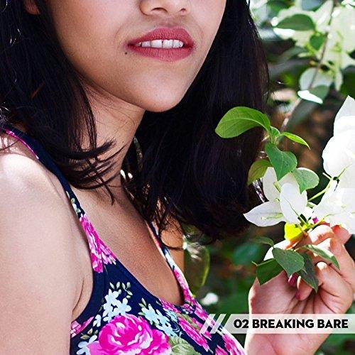 SUGAR Cosmetics It's A-Pout Time! Vivid Lipstick 02 Breaking Bare (Mauve Pink), 3.5 g