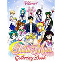 Sailor Moon Coloring Book: Over 50 Sailor Moon Illustration Funny Coloring Book for Japanese Anime Fans - Vol 1