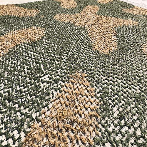 HGLAYY Tannennadel Tarnnetz, Dschungeltarnlichtschutz im Freien Satellitenluftverteidigung schießen große Blume Gras Armee grün Tannennadelnetz Camping Military Themed Verdeckung Canopy
