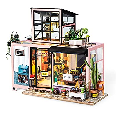 Robotime Doll House Furniture Accessories Miniature Building
