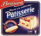 Brossard 36 Biscuits Cuillère aux oeufs frais pour pâtisserie 300 g...