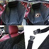 KYC mascotas asiento de coche fundas banco asiento carga maletero, tela de Oxford, impermeable, antideslizante resistencia y hamaca, acolchado, resistente Alfombra de coche para SUVs