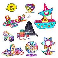 Migliore scelta di regali di Natale I blocchi di costruzione magnetici, uno dei giocattoli più popolari, sono la scelta migliore per i vostri bambini con i migliori materiali utilizzati. Le forme geometriche colorate attraenti assorbono gli occhi dei...