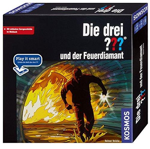 Preisvergleich Produktbild Kosmos 691967 - Die drei  und der Feuerdiamant - Play it smart