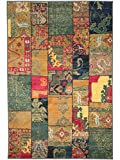 Benuta Teppich Liguria Multicolor 80x140 cm | Moderner Teppich für Wohn- und Schlafzimmer