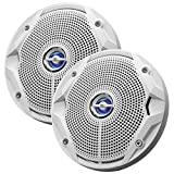 "JBL MS6520 180W, 6. 5"" Coaxial Marine Speakers - (Pair) White"
