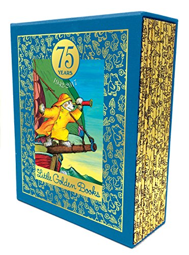 75 years of Little Golden Books : 1942-2017 : a commemorative set of 12 best-loved books.