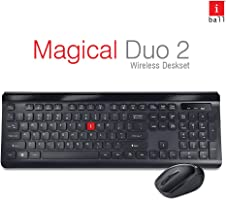 iBall Magical Duo 2 Wireless Deskset - Keyboard and Mouse