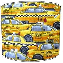 Premier Lampshades 8 Inch Cuadro York Taxi tulipa de lámpara 11, ...