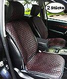 Big Ant Sitzbezüge Auto Sitzauflage Auto Sitzkissen Auto Geeignet für Alle Auto PU Leder x 2 Stücke