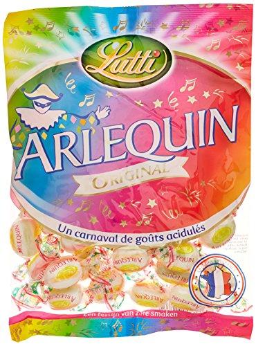 Lutti Arlequin Original le Sachet 250 g - Lot de 6