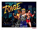 Streets of Rage Art Print Pixel 35 x 28 cm Iron Publishing SEGA Posters Wallscrolls