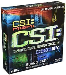 csi board game handbook