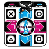 HSRG Rug Tanzteppich Skidproof Dance Mat Decke Computer Tanzmatte Für USB 0,8 cm Dicke Matte 90 cm * 80 cm