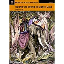 Penguin Active Reading 2: Round the World in Eighty Days Book and CD-ROM Pack (Penguin Active Readers, Level 2)