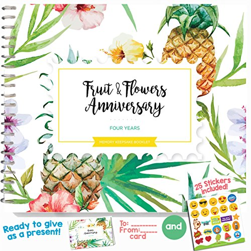 4th-anniversary-gifts-for-couples-by-year-four-year-booklet-with-card-for-fruit-flowers-anniversary-